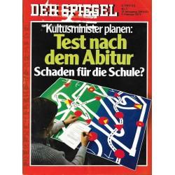 Der Spiegel Nr.7 / 7 Februar 1977 - Test nach dem Abitur