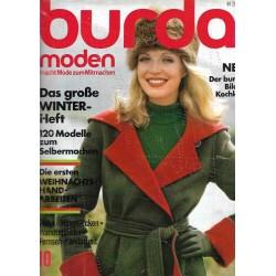 burda Moden 10/Oktober 1973 - Das große Winterheft