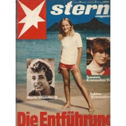 stern Heft Nr.33 / 7 August 1980 - Die Entführung: Susanne Kronzucker