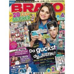 BRAVO Nr.14 / 27 März 2013 - Selena Gomez, da guckst du Justin!