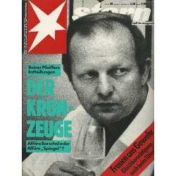 stern Heft Nr.39 / 17 September 1987 - Der Kronzeuge