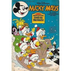 Micky Maus Nr. 52 / 24 Dezember 1977 - Goofy als Marionette