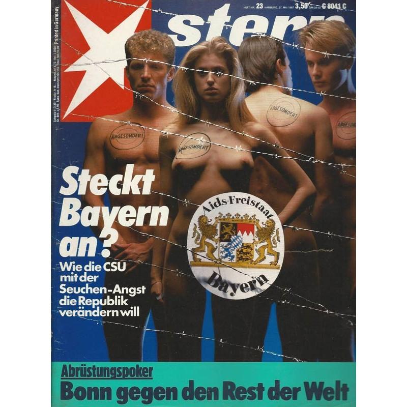 stern Heft Nr.23 / 27 Mai 1987 - Steckt Bayern an?