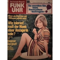 Funk-Uhr Nr. 34 / 21 bis 27 August 1971 - Dagmar Berghoff