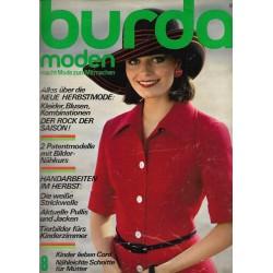 burda Moden 8/August 1974 - Neue Herbstmode