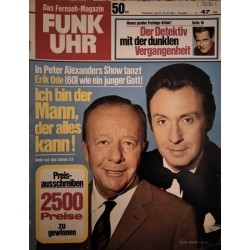 Funk-Uhr Nr. 47 / 21 bis 27 November 1970 - Peter Alexander