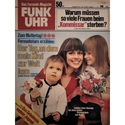 Funk-Uhr Nr. 19 / 9 bis 15 Mai 1970 - Lottofee Karin Dinslage