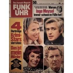 Funk-Uhr Nr. 16 / 18 bis 24 April 1970 - Krimi Stars