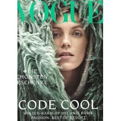 Vogue 12/Dezember 2018 - Anja Rubik Code Cool