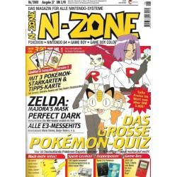 N-Zone 06/2000 - Ausgabe 37 - Das grosse Pokemon Quiz