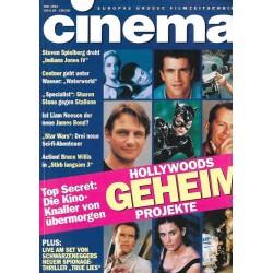 CINEMA 5/94 Mai 1994 - Hollywoods geheim Projekte