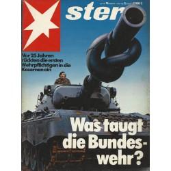stern Heft Nr.14 / 1 April 1982 - Was taugt die Bundeswehr?