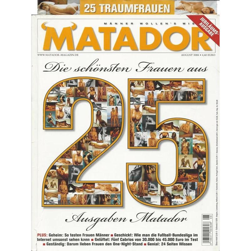 Matador August 2006 - Die schönsten Frauen aus