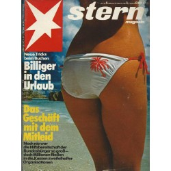 stern Heft Nr.9 / 25 Februar 1982 - Billiger in den Urlaub