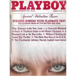 Playboy USA Nr.2 / Februar 1980 - Candace Collins