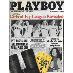 Playboy USA Nr.9 / September 1979 - Women of Ivy League Revealed