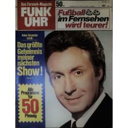 Funk-Uhr Nr. 41 / 10 bis 16 Oktober 1970 - Peter Alexander