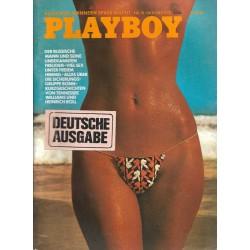Playboy Nr.10 / Oktober 1973 - Zoya