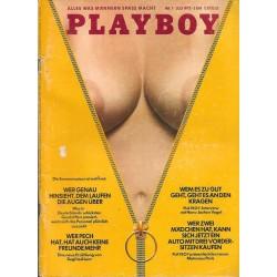 Playboy Nr.7 / Juli 1973 - Karen Christy
