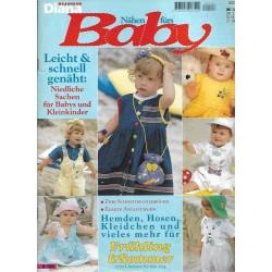 Nähen fürs Baby Ausgabe D 128 von 1996