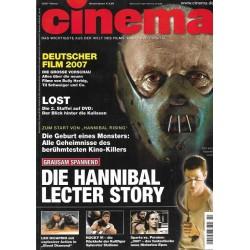 CINEMA 2/07 Februar 2007 - Die Hannibal Lecter Story