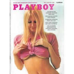 Playboy Nr.6 / Juni 1973 - Liv Lindeland