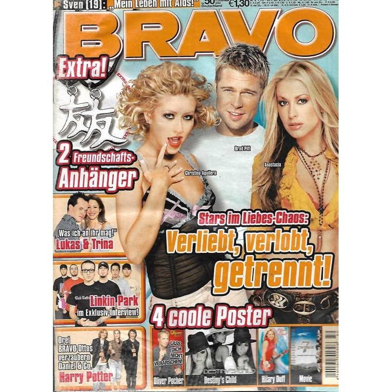 BRAVO Nr.50 / 1 Dezember 2004 - Stars im Liebes Chaos