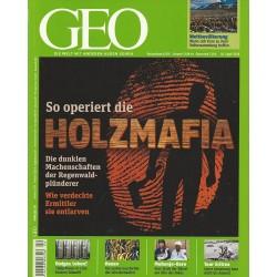 Geo Nr. 4 / April 2010 - So operiert die Holzmafia
