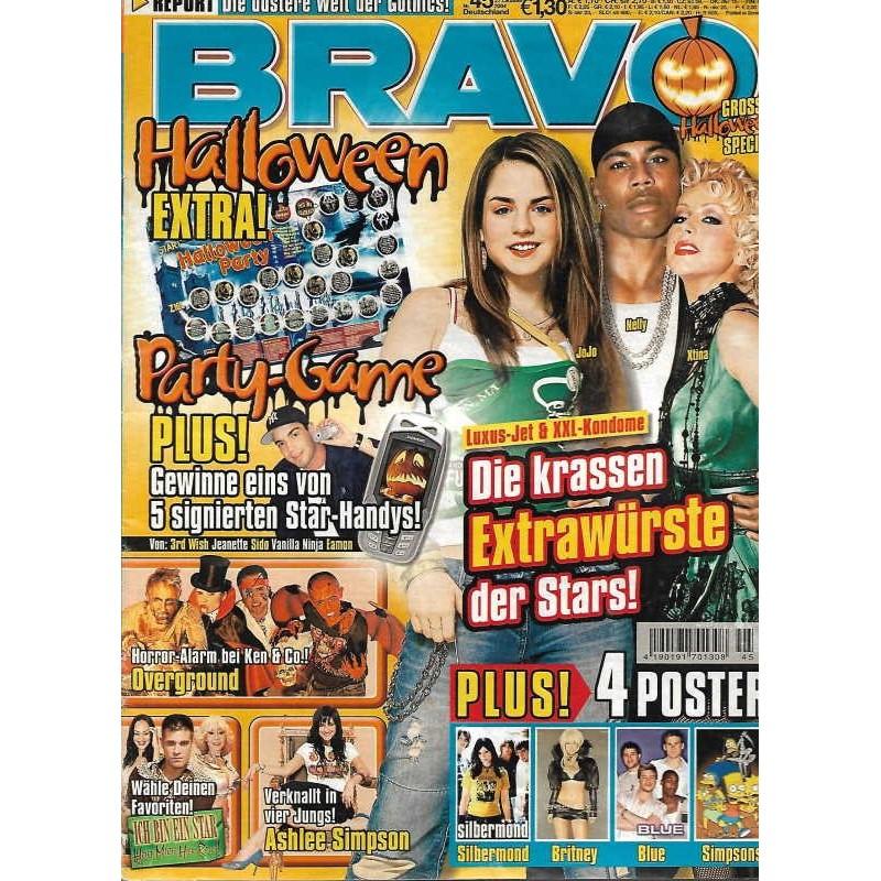 BRAVO Nr.45 / 27 Oktober 2004 - Die krassen Extrawürste