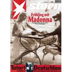 stern Heft Nr.3 / 12 Januar 1995 - Frühling mit Madonna