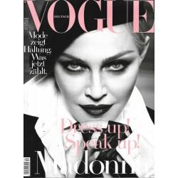 Vogue 4/April 2017 - Madonna Dress up! Speak up!
