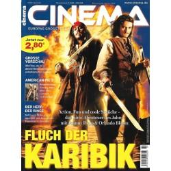 CINEMA 9/03 September 2003 - Fluch der Karibik