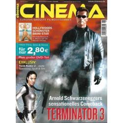 CINEMA 8/03 August 2003 - Terminator 3