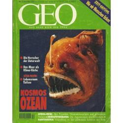 Geo Nr. 12 / Dezember 1995 - Kosmos Ozean