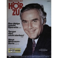 HÖRZU 15 / 11 bis 17 April 1970 - Joachim Fuchsberger