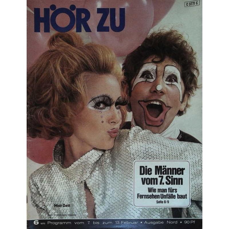 HÖRZU 6 / 7 bis 13 Februar 1970 - Mal-Zeit!