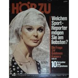 HÖRZU 49 / 4 bis 10 Dezember 1971 - Elke Sommer