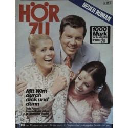 HÖRZU 36 / 5 bis 11 September 1970 - Quizmaster Thoelke