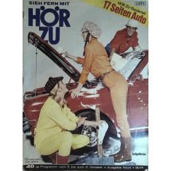 HÖRZU 40 / 5 bis 11 Oktober 1968 - Spülgefährten