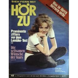 HÖRZU 12 / 20 bis 26 März 1971 - Sabine Sinjen