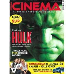 CINEMA 7/03 Juli 2003 - Hulk