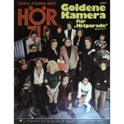 HÖRZU 4 / 23 bis 29 Januar 1971 - Goldene Kamera