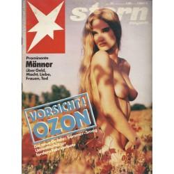 stern Heft Nr.30 / 18 Juli 1991 - Vorsicht! Ozon