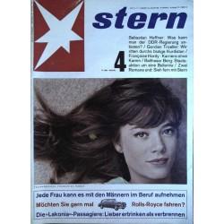 stern Heft Nr.4 / 26 Januar 1964 - Francoise Hardy