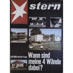 stern Heft Nr.41 / 13 Oktober 1963 - Meine 4 Wände