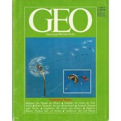 Geo Nr. 3 / März 1985 - Testlabor Natur