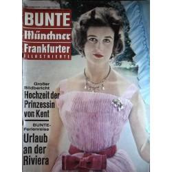 Bunte Illustrierte Nr.19 / 8 Mai 1963 - Prinzessin von Kent