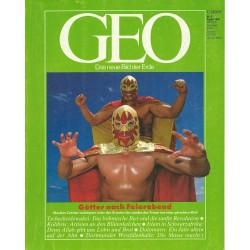 Geo Nr. 8 / August 1990 - Götter nach Feierabend