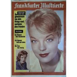 Frankfurter Illustrierte Nr.32 / 8 August 1959 - Romy Schneider