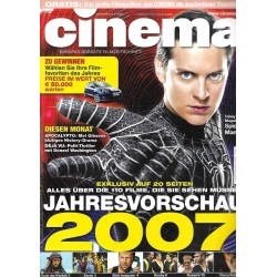 CINEMA 1/07 Januar 2007 - Spiderman 3